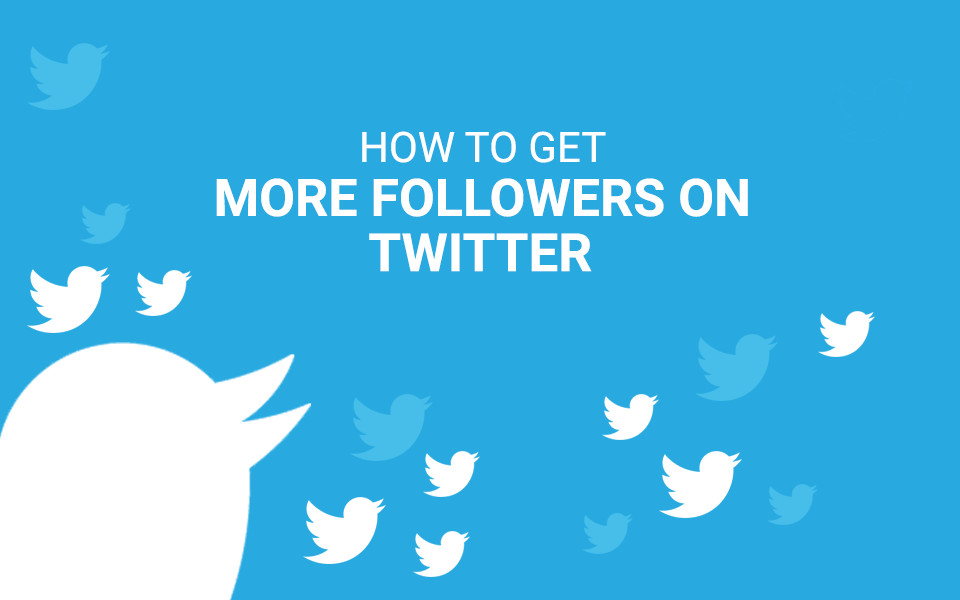 How to get more followers on twitter?
