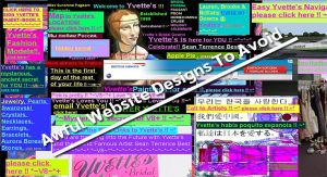 Awful Website Designs To Avoid