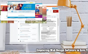Employing Web Design Software to Save Time